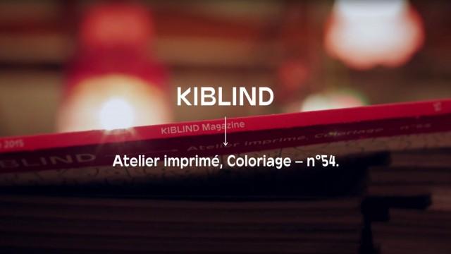 Kiblind 54 Paris
